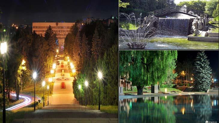 Парки города Пятигорска