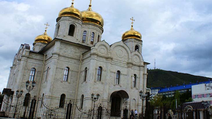 Спасский кафедральный собор в Пятигорске
