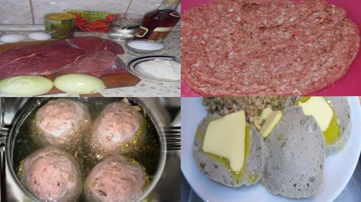 Приготовление кюфты по армянски