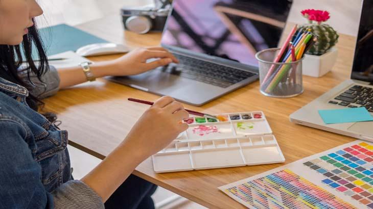 веб-дизайнер, умение рисовать
