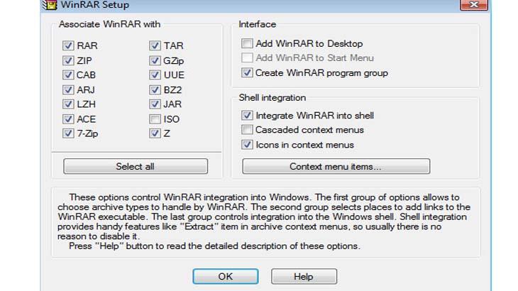 Возможности программы WinRar