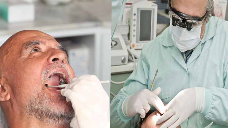 Ручное снятие зубного камня
