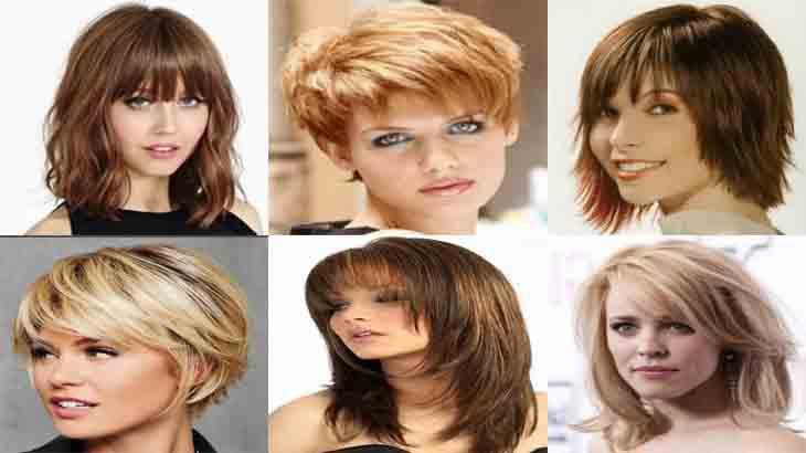 Стрижки для волос средней толщины