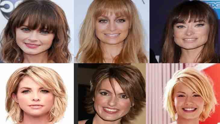 Стрижки для прямоугольного типа лица