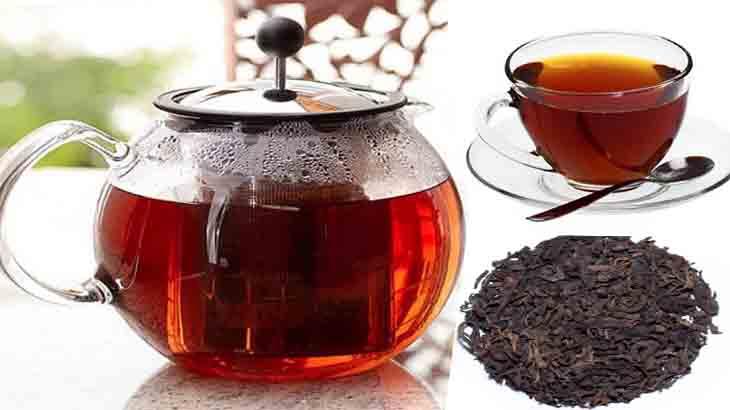 Заварка черного чая