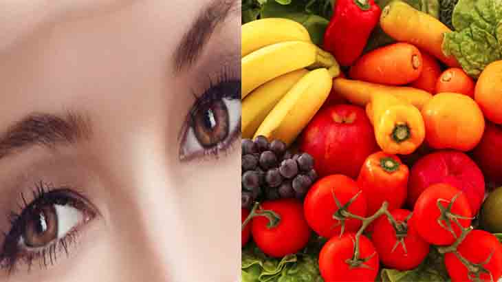 Овощи, ягоды и фрукты для здоровья глаз