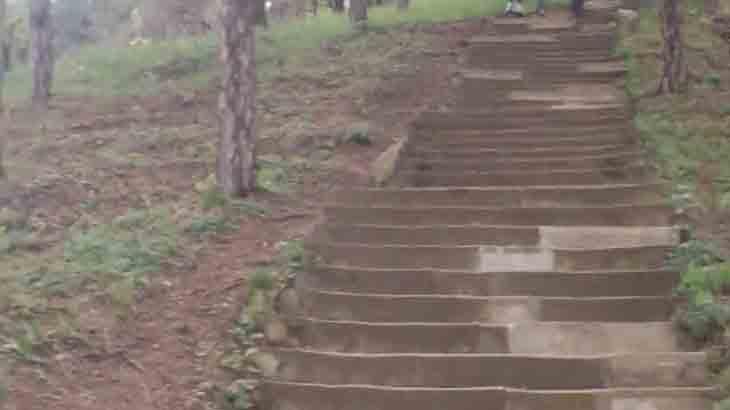 Лестница 1000 ступеней в Кисловодске