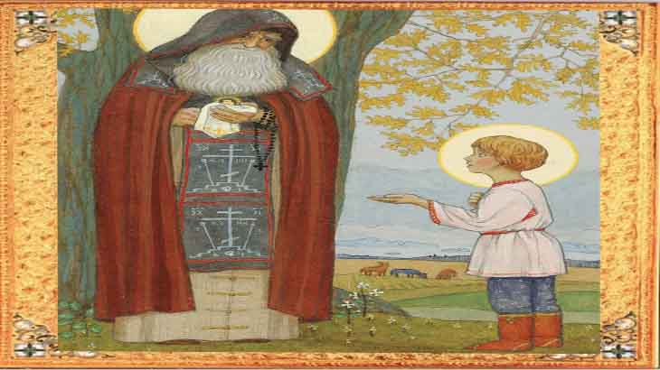 Встреча Варфоломея со Святым Старцем