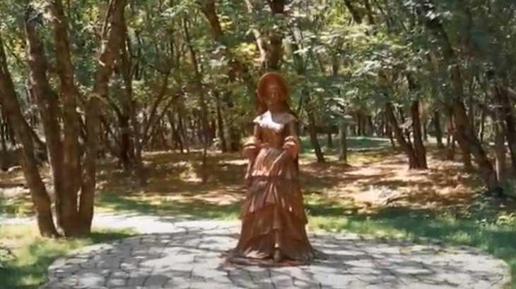 Скульптура княжны Мери