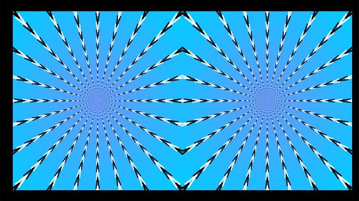 Оптическая картинка для зрения