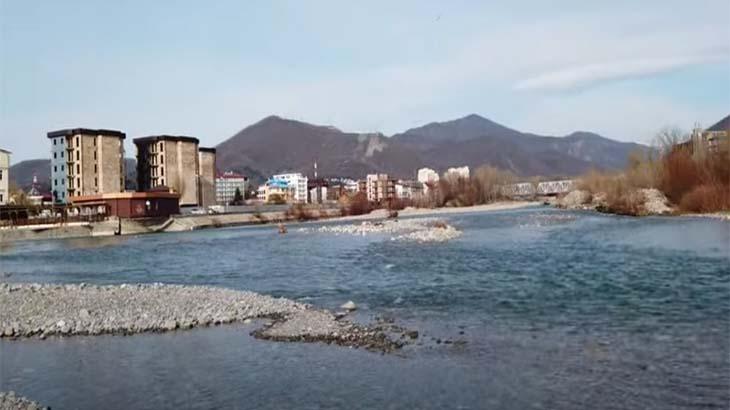 Зимняя погода в Лазаревском