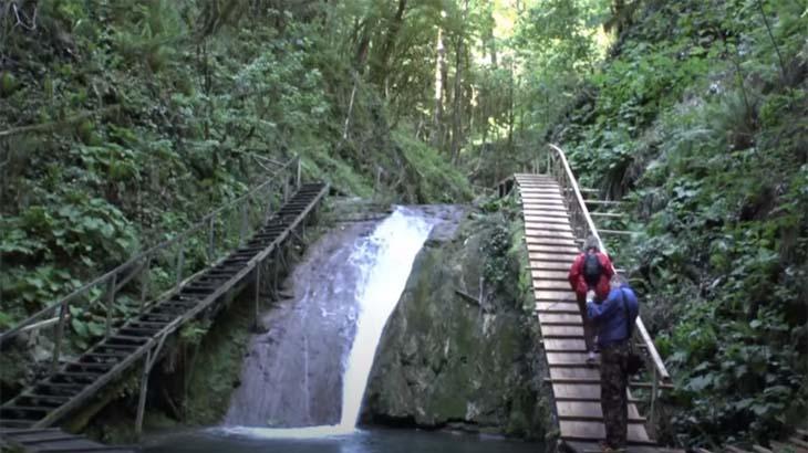33 водопада, поселок Лазаревское